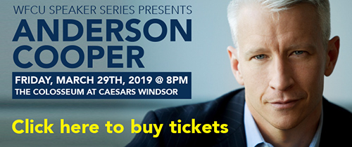 Anderson Cooper - Buy Tickets Now!